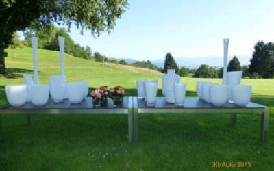 1000 Vasen beim Golfturnier Lindau Bad Schachen