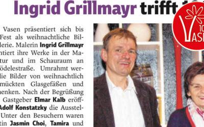 Die Vorarlberger Nachrichten zur Vernissage am 8.12.17