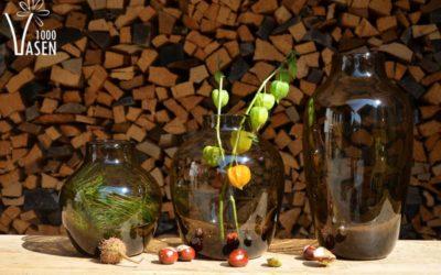 Neue Glasvasen der Kollektion Herbst 2016 eingetroffen